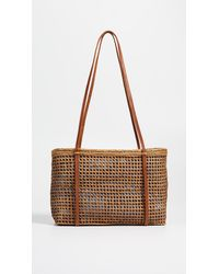 09c9ad108514 Lyst - Brother Vellies Nusa Tote in Natural