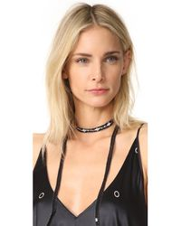 Chan Luu - Black Multi Way Embroidered Wrap - Lyst