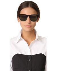 Linda Farrow - Multicolor Classic Stud Sunglasses - Lyst
