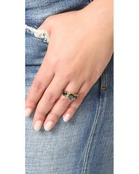 Jacquie Aiche - Multicolor Ja 3 Round Onyx Ring - Lyst