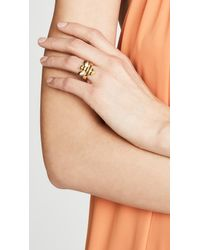 Kate Spade - Metallic Picnic Perfect Pave Bee Ring - Lyst