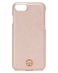 Tory Burch - Pink Robinson Hardshell Iphone 7 Case - Lyst