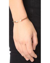 Vita Fede - Metallic Ultra Mini Titan Stone Bracelet - Lyst