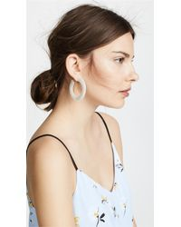 Cult Gaia - White Mira Earrings - Lyst