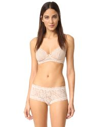Hanky Panky - Natural Glam Bra - Lyst