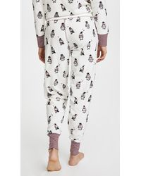 Pj Salvage | White Cool For The Winter Pj Pants | Lyst