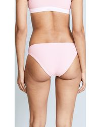 Splendid - Pink Colorblocked Retro Bottoms - Lyst