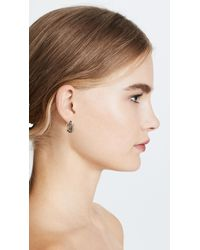 Alexis Bittar | Metallic Floating Orbit Earrings | Lyst