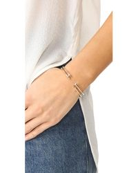 Vita Fede - Metallic Ultra Mini Titan Crystal Bracelet - Lyst