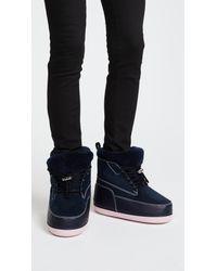 KENZO - Blue Nebraska Boots - Lyst