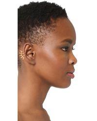 DANNIJO - Metallic Lu Ear Cuff - Lyst
