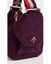MANU Atelier - Purple Micro Fernweh Bag - Lyst