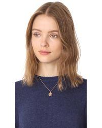 Kate Spade - Metallic Initial Pendant Necklace - Lyst