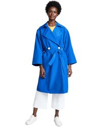 Simon Miller - Blue Palomba Trench Coat - Lyst