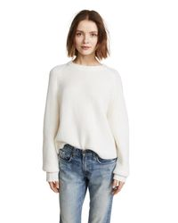 Le Kasha - White Komaki Cashmere Sweater - Lyst