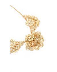 Kate Spade - Metallic Golden Age Necklace - Lyst