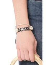 Rebecca Minkoff - Multicolor Lola Friendship Bracelet - Lyst