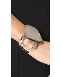 Alexis Bittar - Metallic Statement Cuff Bracelet - Lyst