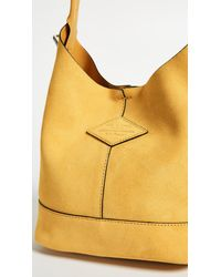 Rag & Bone - Yellow Camden Mini Shopper Bag - Lyst