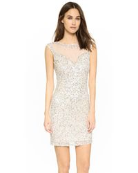 Parker - White Black Montclair Dress - Lyst