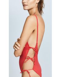 Solid & Striped - Red Swim Team Lily One Piece - Lyst