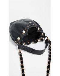 Mother Of Pearl - Black Bernie Medium Bucket Bag - Lyst