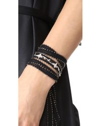 Chan Luu - Black Multi Way Embroidered Wrap - Lyst