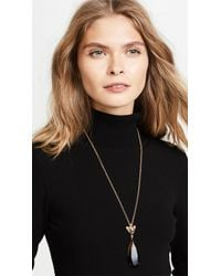 Kate Spade - Metallic Run Wild Cheetah Pendant Necklace - Lyst