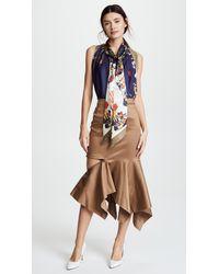 Monse - Multicolor Zip Trumpet Skirt - Lyst