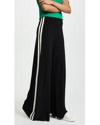97e19ede9 Lyst - Norma Kamali Side Stripe Elephant Pants in Black