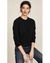 Vince - Black Pullover - Lyst