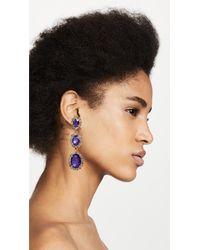 Elizabeth Cole - Multicolor Lawrence Earrings - Lyst