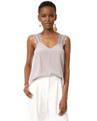 Cami NYC - Gray Chelsea Top - Lyst