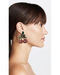 Shourouk - Multicolor Lolita Earrings - Lyst