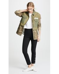 Rag & Bone - Green Modular Field Jacket - Lyst
