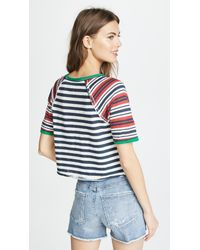 Free People - Multicolor Prepster Tee - Lyst