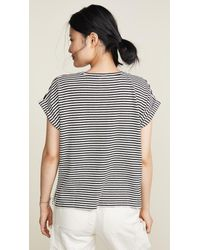 Closed Multicolor Light Knit Stripe Tee