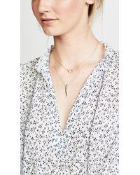 Gorjana - Metallic Wilshire Charm Necklace - Lyst