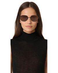 Elizabeth and James   Brown Fenn Sunglasses   Lyst