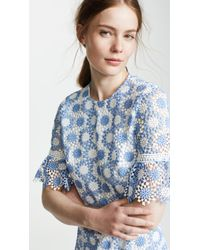 Shoshanna Blue Marisol Dress