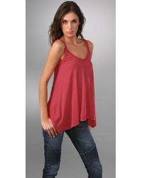 Splendid - Red Light & Fashionable Tank - Lyst