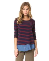 Soft Joie - Blue Marilina Sweater - Lyst