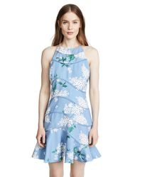Keepsake Blue Wild Thoughts Mini Dress