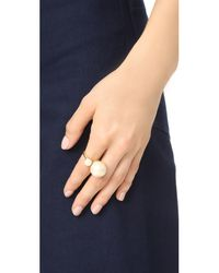 Kate Spade - Multicolor Girly Pearly Ring - Lyst