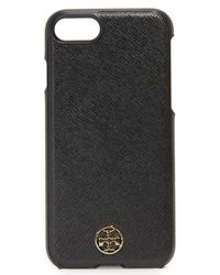 Tory Burch - Black Robinson Hardshell Iphone 7 Case - Lyst