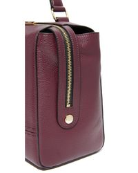 MILLY - Purple Large Satchel - Lyst