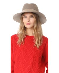 Rag & Bone - Multicolor Zoe Fedora Hat - Lyst