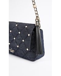 Kate Spade - Blue Emerson Place Serena Shoulder Bag - Lyst