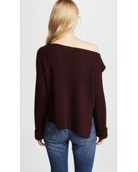 Vince - Multicolor Ribbed Pullover - Lyst