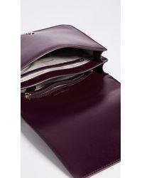 MICHAEL Michael Kors - Purple Large Mott Shoulder Bag - Lyst